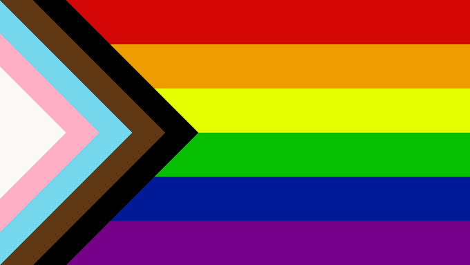 An image of Progress: The PRIDE Flag Reboot, designed by Daniel Quasar